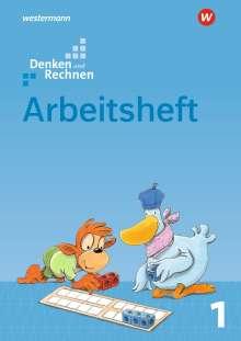 Denken und Rechnen 1. Arbeitsheft. Allgemeine Ausgabe, Buch