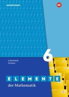 Elemente der Mathematik SI 6. Arbeitsheft mit Lösungen. Sachsen, Buch