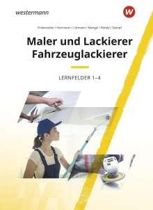 Bernhard Finkenzeller: Maler und Lackierer / Fahrzeuglackierer. Lernfelder 1-4: Schülerband, Buch