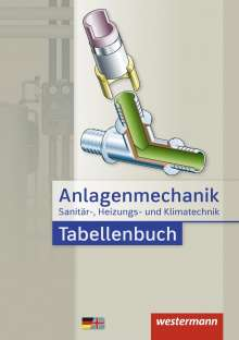 Hans Joachim Bäck: Anlagenmechanik für Sanitär-, Heizungs- und Klimatechnik. Tabellenbuch, Buch