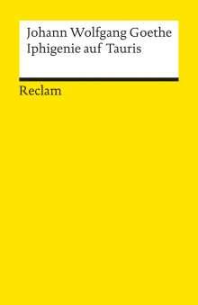 Johann Wolfgang von Goethe: Iphigenie auf Tauris, Buch