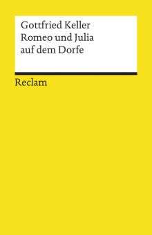 Gottfried Keller: Romeo und Julia auf dem Dorfe, Buch