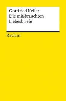 Gottfried Keller: Die mißbrauchten Liebesbriefe, Buch