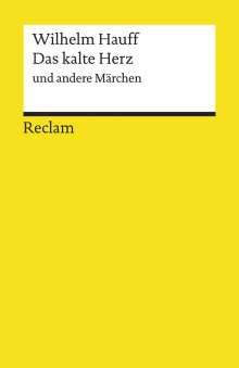 Wilhelm Hauff: Das kalte Herz und andere Märchen, Buch
