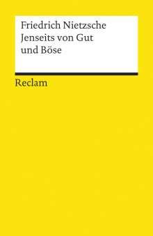 Friedrich Nietzsche: Jenseits von Gut und Böse, Buch