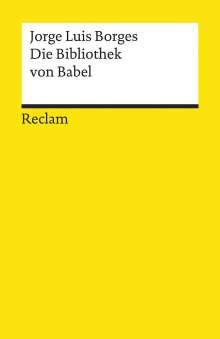 Jorge Luis Borges: Die Bibliothek von Babel, Buch