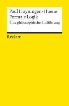 Paul Hoyningen-Huene: Formale Logik, Buch
