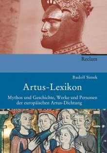 Rudolf Simek: Artus-Lexikon, Buch