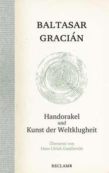 Baltasar Gracián: Handorakel und Kunst der Weltklugheit, Buch