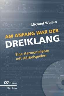 Michael Wersin: Am Anfang war der Dreiklang, Buch