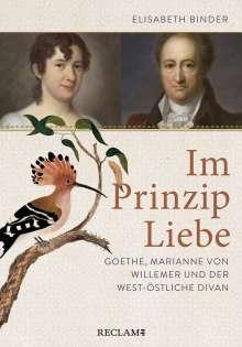 Elisabeth Binder: Im Prinzip Liebe, Buch