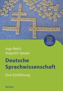 Augustin Speyer: Deutsche Sprachwissenschaft, Buch