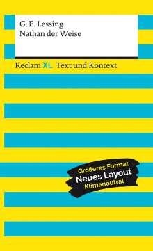 Gotthold Ephraim Lessing: Nathan der Weise. Textausgabe mit Kommentar und Materialien, Buch