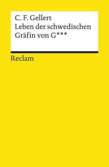 Christian Fürchtegott Gellert: Leben der schwedischen Gräfin von G***, Buch