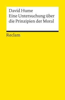 David Hume: Eine Untersuchung über die Prinzipien der Moral, Buch