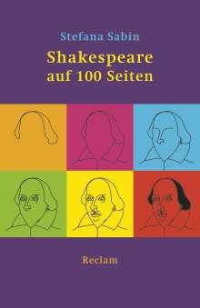 Stefana Sabin: Shakespeare auf 100 Seiten, Buch