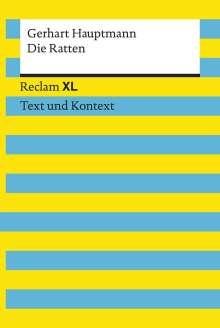 Gerhart Hauptmann: Die Ratten. Textausgabe mit Kommentar und Materialien, Buch