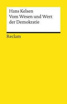 Hans Kelsen: Vom Wesen und Wert der Demokratie, Buch