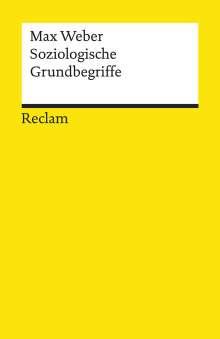 Max Weber: Soziologische Grundbegriffe, Buch