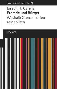 Joseph H. Carens: Fremde und Bürger, Buch