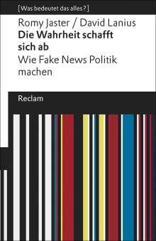Romy Jaster: Die Wahrheit schafft sich ab, Buch