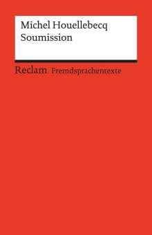 Michel Houellebecq: Soumission, Buch