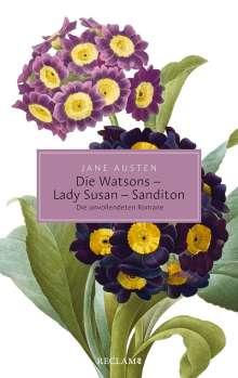 Jane Austen: Die Watsons / Lady Susan / Sanditon, Buch