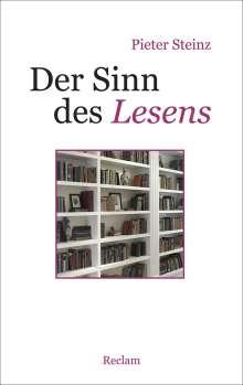 Pieter Steinz: Der Sinn des Lesens, Buch