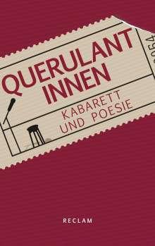 Querulantinnen, Buch