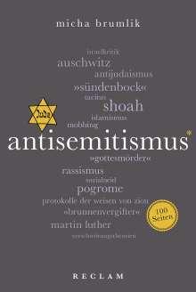 Micha Brumlik: Antisemitismus. 100 Seiten, Buch