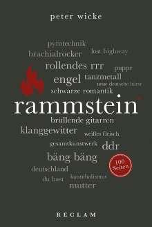 Peter Wicke: Rammstein. 100 Seiten, Buch