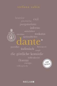 Stefana Sabin: Dante, Buch