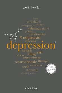 Zoë Beck: Depression. 100 Seiten, Buch