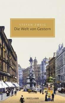 Stefan Zweig: Die Welt von Gestern, Buch
