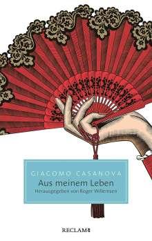Giacomo Casanova: Aus meinem Leben, Buch