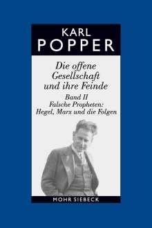 Karl R. Popper: Die offene Gesellschaft und ihre Feinde II / Studienausgabe, Buch