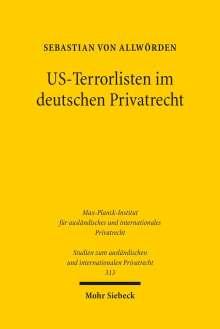 Sebastian von Allwörden: US-Terrorlisten im deutschen Privatrecht, Buch