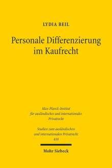 Lydia Beil: Personale Differenzierung im Kaufrecht, Buch