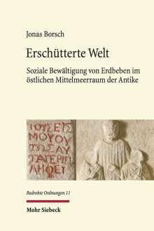 Jonas Borsch: Erschütterte Welt, Buch