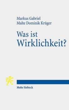 Markus Gabriel: Was ist Wirklichkeit?, Buch