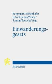 Marcus Bergmann: Einwanderungsgesetz, Buch