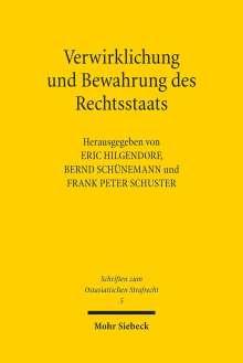 Verwirklichung und Bewahrung des Rechtsstaats, Buch