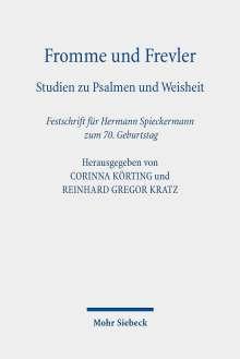Fromme und Frevler, Buch