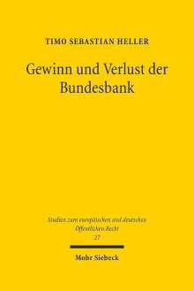Timo Sebastian Heller: Gewinn und Verlust der Bundesbank, Buch