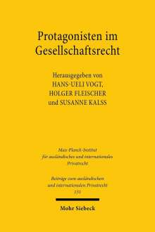 Protagonisten im Gesellschaftsrecht, Buch