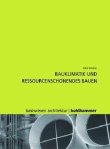 Dirk Bohne: Energiekonzepte für Architekturentwürfe, Buch
