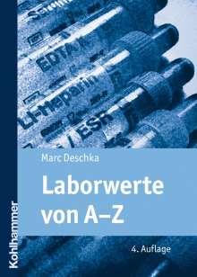 Marc Deschka: Laborwerte von A-Z, Buch