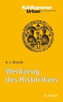 Ahasver von Brandt: Werkzeug des Historikers, Buch