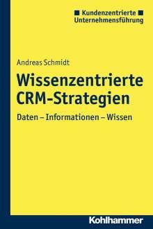 Andreas Schmidt: Wissenszentrierte CRM-Strategien, Buch