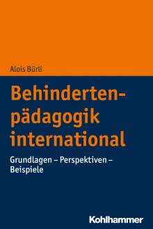 Alois Bürli: Behindertenpädagogik international, Buch